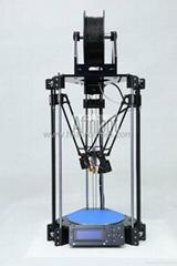 三维成型机 3D打印机 3d printer 并联臂结构 ROSTOCK 个人DIY