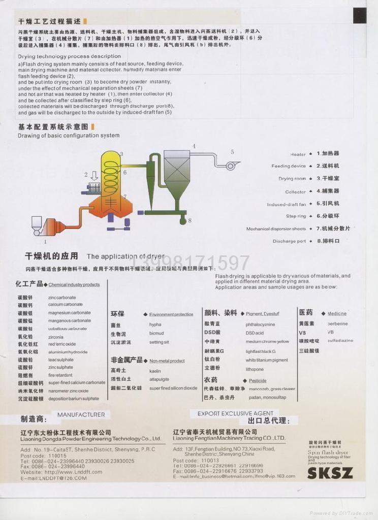 閃蒸乾燥機(圖) 4