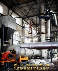 Powder body high temperature rapid decomposition furnace