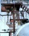 Zinc calcine carbide furnace
