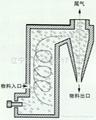Aluminum trifluoride calciner