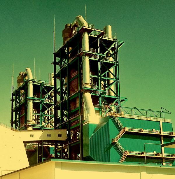 菱镁矿粉闪速煅烧氧化镁设备技术  1