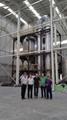 Zinc carbonate decomposition furnace 14