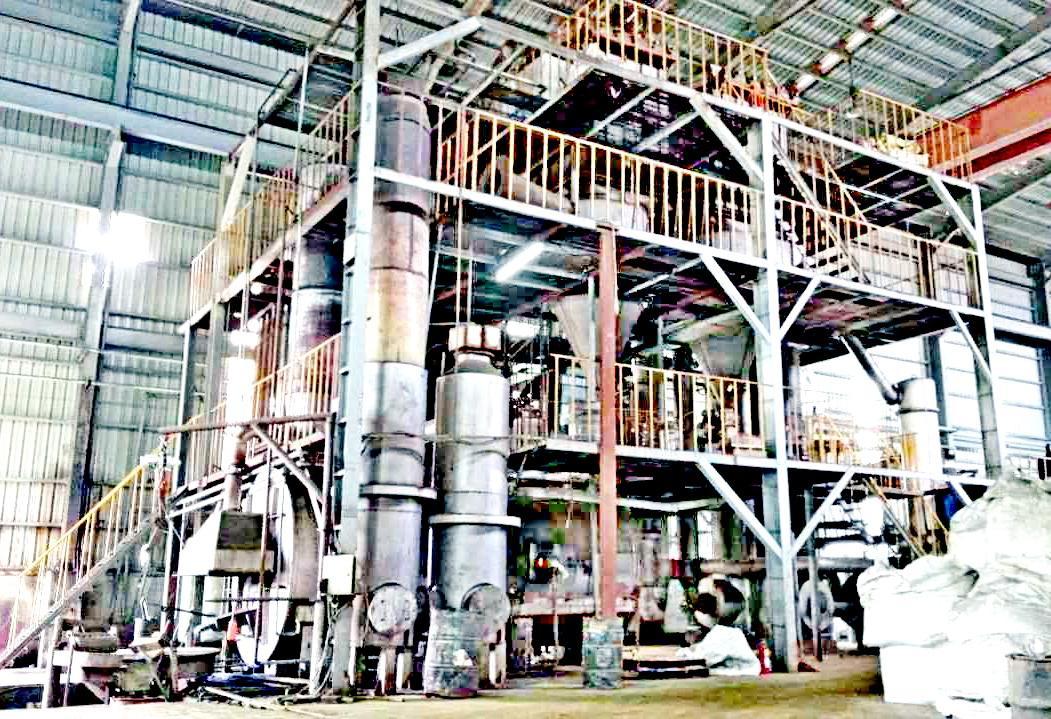 Zinc calcine carbide furnace 5