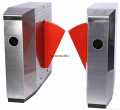 304 stainless steel China manufacturer automatic flap barrier