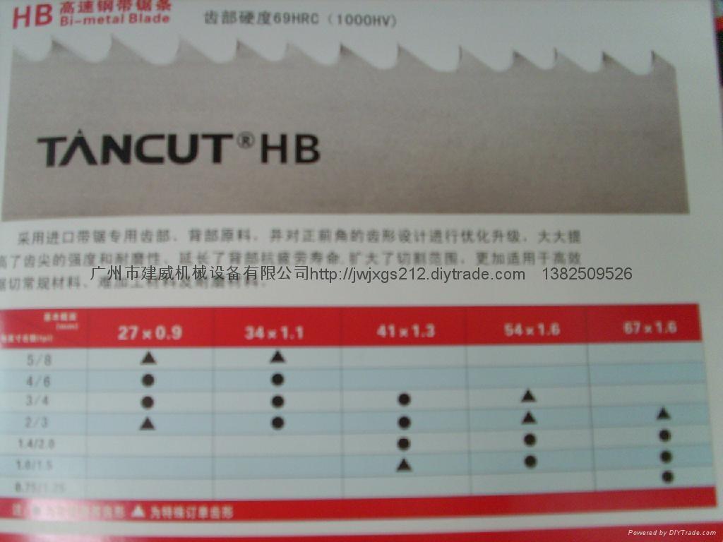 HB高速鋼帶鋸條 3