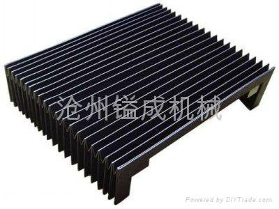 濟南風琴式機床導軌防塵護罩 1
