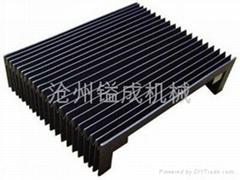 济南风琴式机床导轨防尘护罩