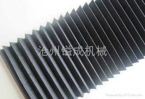 濟南風琴式機床導軌防塵護罩 2