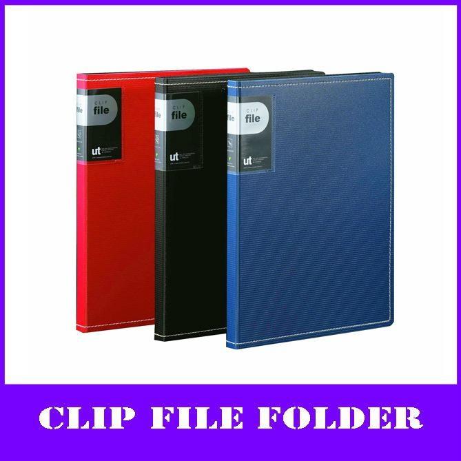 color a4 pp elite D-Ring binder file holder  1