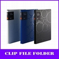 color pp a4 elite lever clip file folder