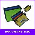 color pp multi-function zipper file mesh