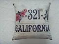 Photo print cushion cover