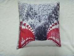 Snow Winter Cushion cover