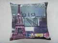 Photo print polyester Paris Efel cushion