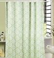 Poly Print Waterproof shower curtain