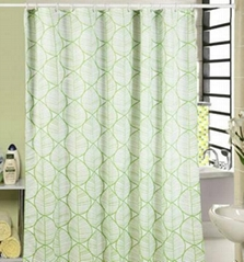 Poly Print Waterproof shower curtain