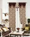 Polyester jacquard drape panel curtain