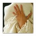 Australian fine wool waffel bed blanket throw cover