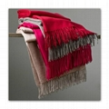 cashmere extra soft warm high-end scarf throw blanket