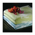 Acrylic jacquard blanket throw bed cover