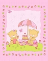 Baby cot mink blanket throw made china