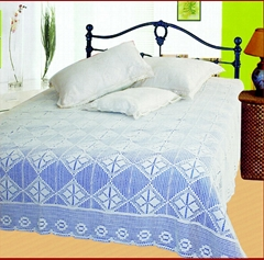 Adult crochet bedspread