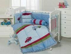 Boy's cot bumper quilt s