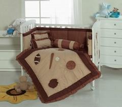 Babies cot quilt comforter bumper