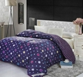 Comforter with filled padding Cotton