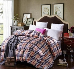 Quilted Winter comforter bedspread bed cover with microfibre downfull filling pa
