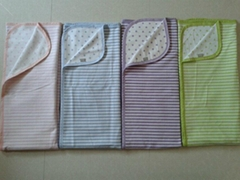 Cotton baby wrap blanket vest stripes dots pattern