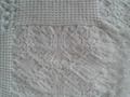 Cotton waffel 4-ply bed cover blanket