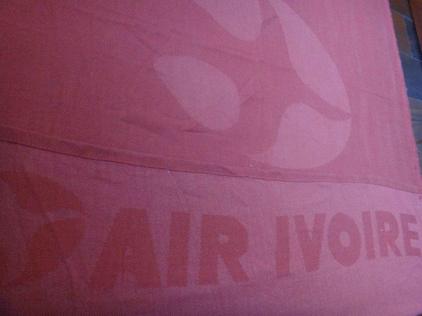 Acrylic fire retardant  Aviation blanket throw 5