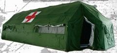 折叠式网架卫生帐篷
