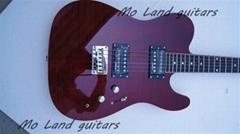 custom handmade flame maple telecaster electric guitar