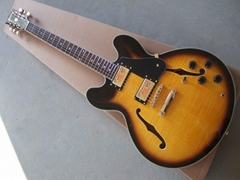 custom hollow body jazz guitar electric guitar