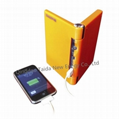 5000mah Foldable USB solar charger for mobile
