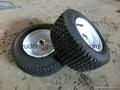 tool cart lawn mower pneumatic rubber wheel 13x5.00-6 4