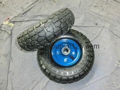 wheelbarrow pneumatic tire rubber wheel 4.10/3.50-4