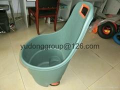 塑料花園工具車48L