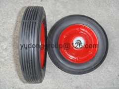 semi pneumatic rubber wheel 7x1.5 8x1.75 10x1.75 12x1.75