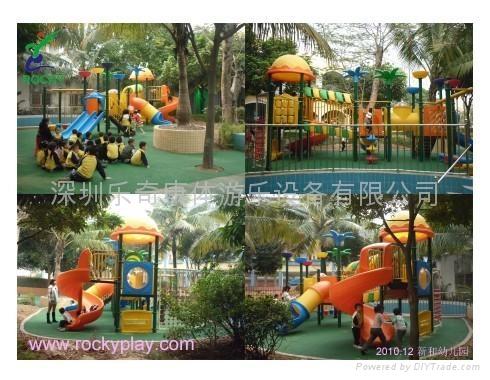 幼儿园滑滑梯 2