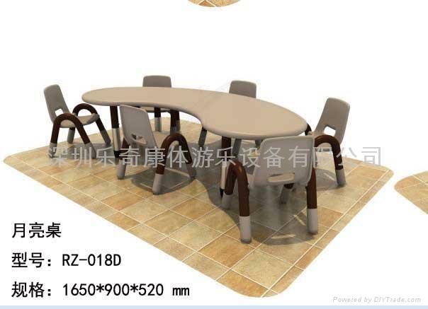 深圳幼儿園塑料桌椅 5