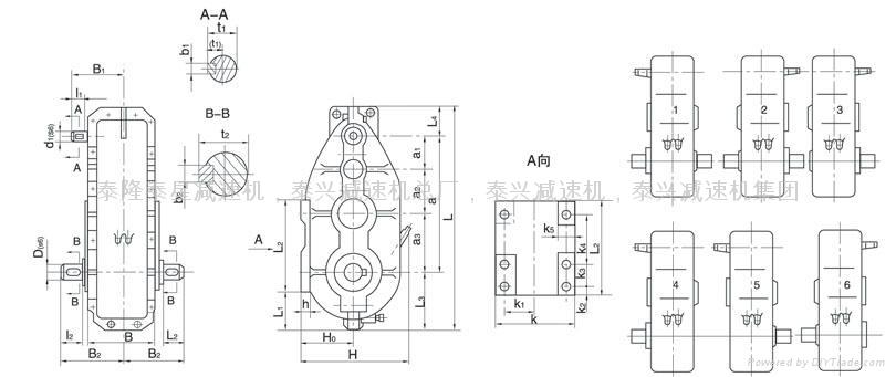 ZSC750圓柱齒輪減速機 2