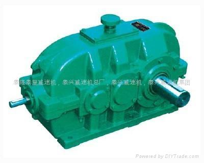 DCY355Hard bevel gear reducer