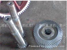 DCY355Hard bevel gear reducer 5