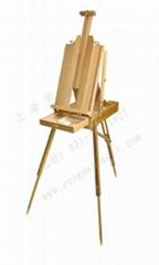 櫸木油畫箱