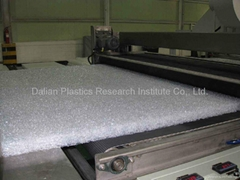 Hollow EVA polymer mattress machine