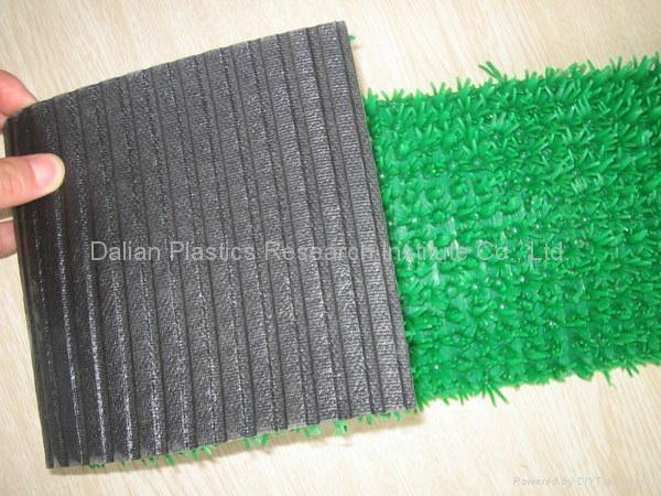 人工塑料草坪垫生产线 3
